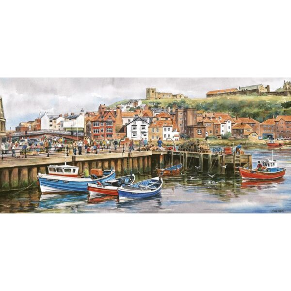 Gibsons Whitby Harbour 636 Piece Jigsaw