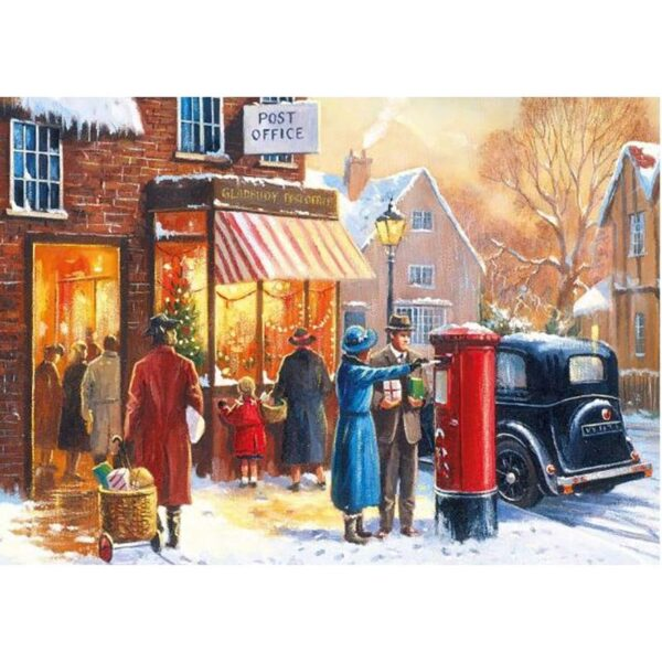 Gibsons Winter About Town 4 x 500 Piece Jigsaw Puzzles 2