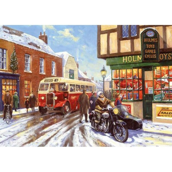 Gibsons Winter About Town 4 x 500 Piece Jigsaw Puzzles 3