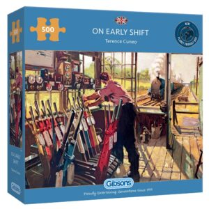 Gibsons On Early Shift 500 Piece Jigsaw Puzzle