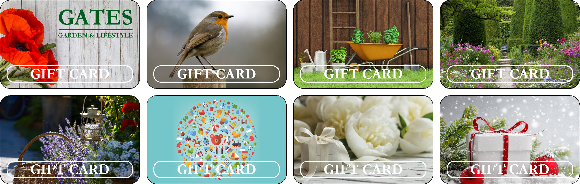 Gift Cards for Website