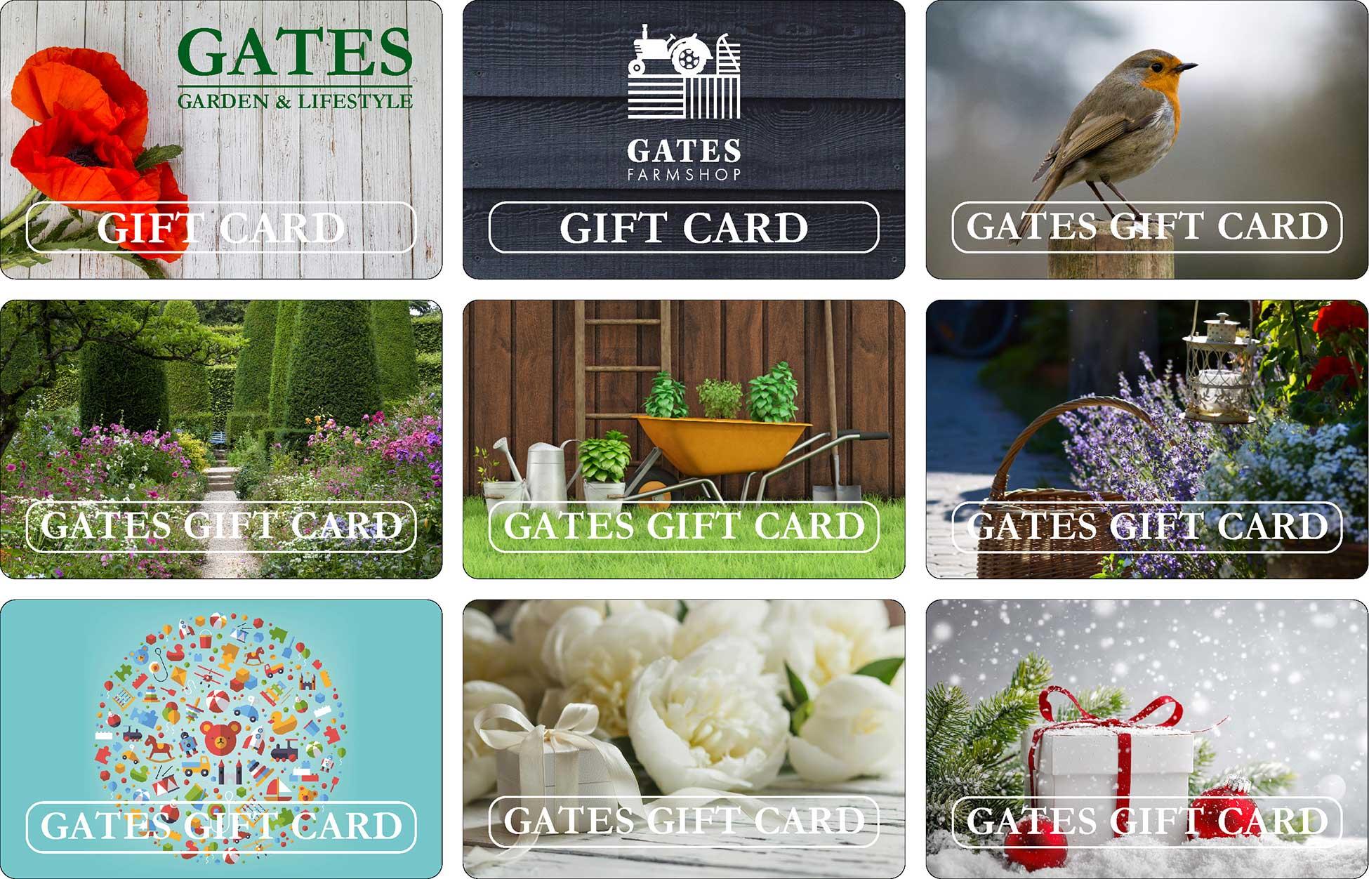 Gates Garden Centre Gift Cards