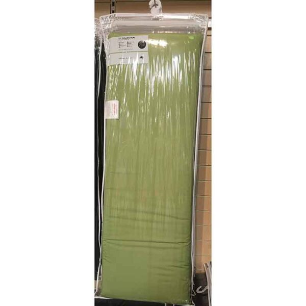 Glencrest CC Collection Lime 3 Seat Bench Pad