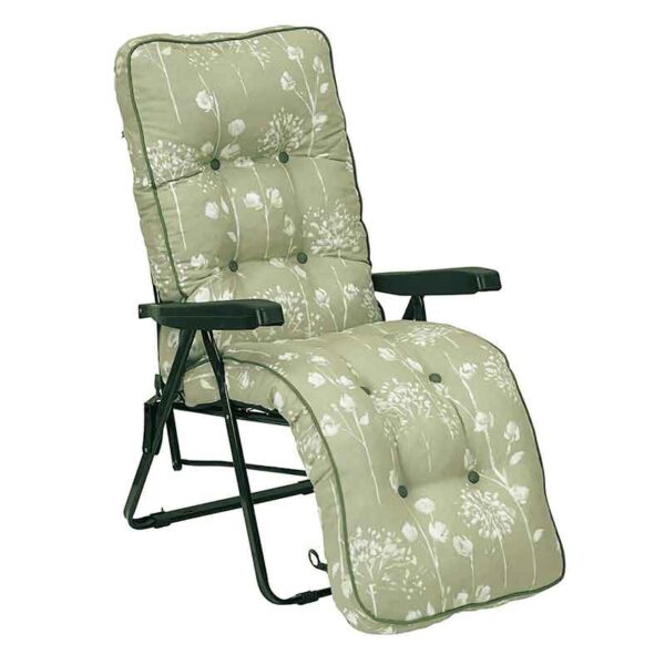 Glendale Deluxe Garden Relaxer Chair in Renaissance Sage Green