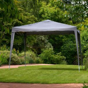 Glendale Easy Up Grey Garden Gazebo (3m x 3m)