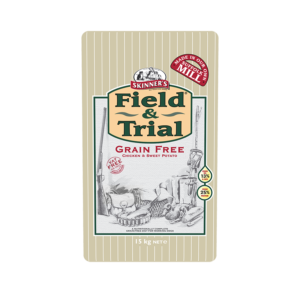 Skinner's Field & Trial Grain Free Chicken & Sweet Potato for Working Dogs