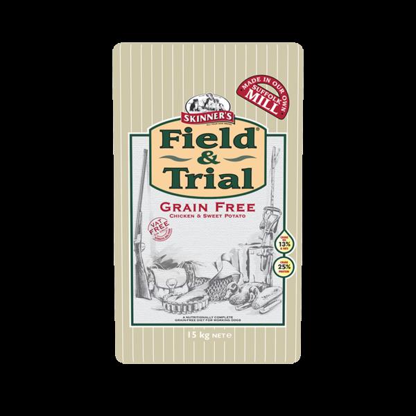 Skinner's Field & Trial Grain Free Chicken & Sweet Potato for Working Dogs