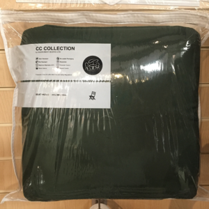 Glencrest CC Collection Green Seat Pad (Pack of 2)