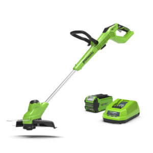 Greenworks 40V 30cm Gear Reducing String Trimmer with 2Ah Battery & Charger