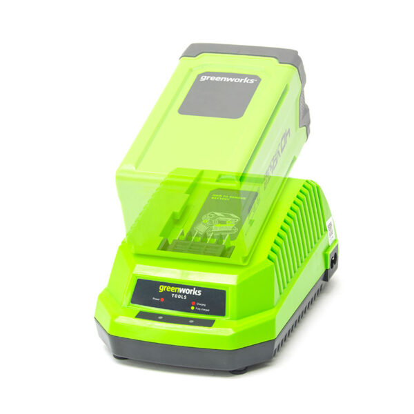 Greenworks 40V Universal Charger with battery