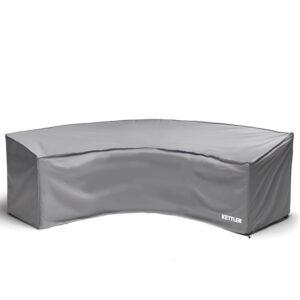 Grey Kettler Palma Round Sofa Protective Cover