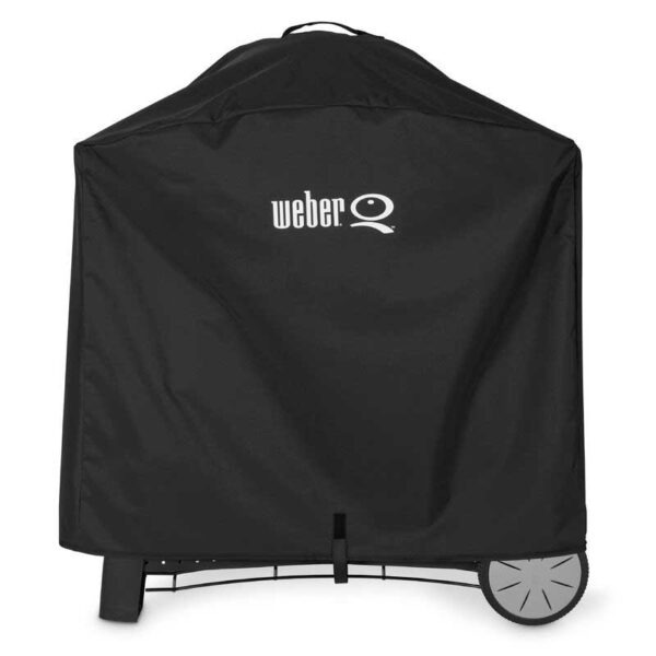 Weber Premium Cover for Q 3000 / Q 2000 series with cart (Black)