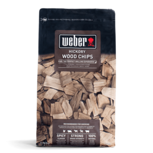 Weber Wood Chips for barbecue smoking - Hickory (0.7kg)