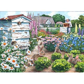 House Of Puzzles Honey Bunnies Big 500 Jigsaw