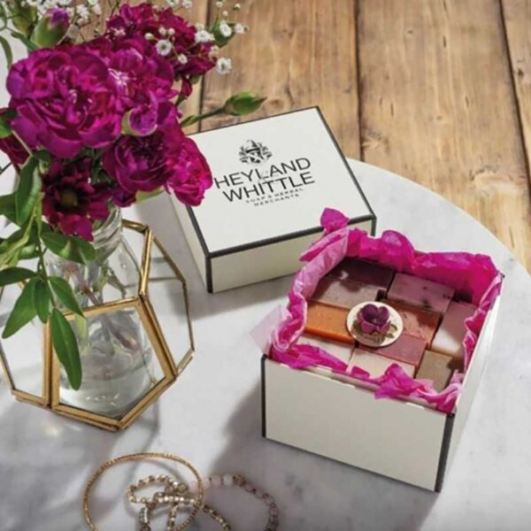 Heyland & Whittle All in Pink Soap Gift Box 2