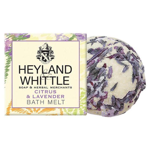 Heyland & Whittle Citrus & Lavender Bath Melts