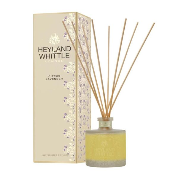 Heyland & Whittle Citrus & Lavender Reed Diffuser 200ml