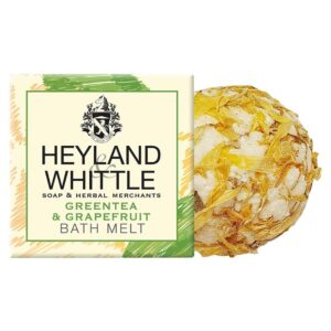 Heyland & Whittle Greentea & Grapefruit Bath Melt