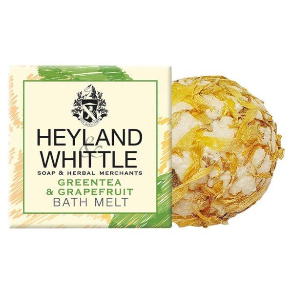 Heyland & Whittle Greentea & Grapefruit Bath Melt