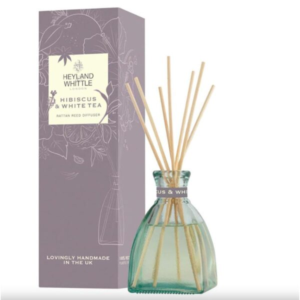 Heyland & Whittle Hibiscus & White Tea Reed Diffuser