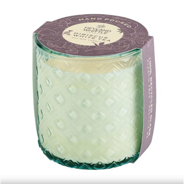 Heyland & Whittle Hibiscus & White Tea Scented Candle