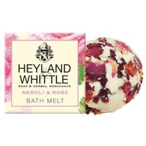 Heyland & Whittle Neroli & Rose Bath Melt