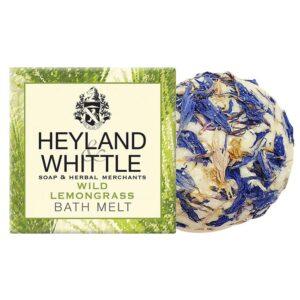 Heyland & Whittle Wild Lemongrass Bath Melts
