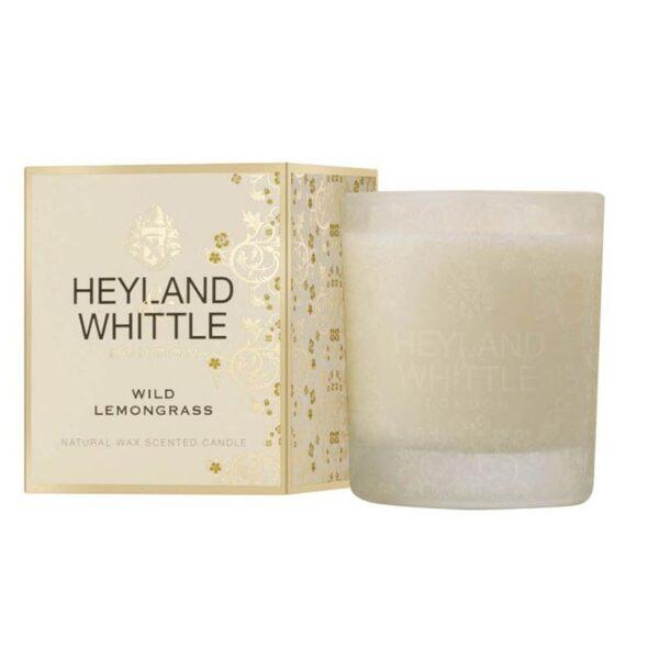 Heyland & Whittle Wild Lemongrass Scented Candle