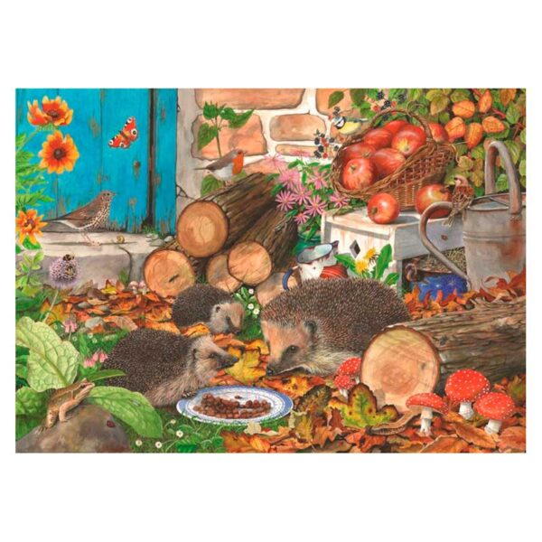 House Of Puzzles Garden Helpers 1000 Piece Jigsaw Puzzle Lifestyle