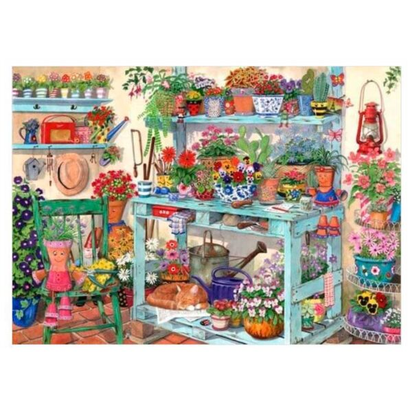 House Of Puzzles Going Potty 1000 Piece Jigsaw Puzzle Image