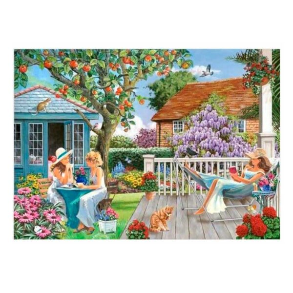 House Of Puzzles Ladies Of Leisure BIG 250 Piece Jigsaw Puzzle Lifestyle