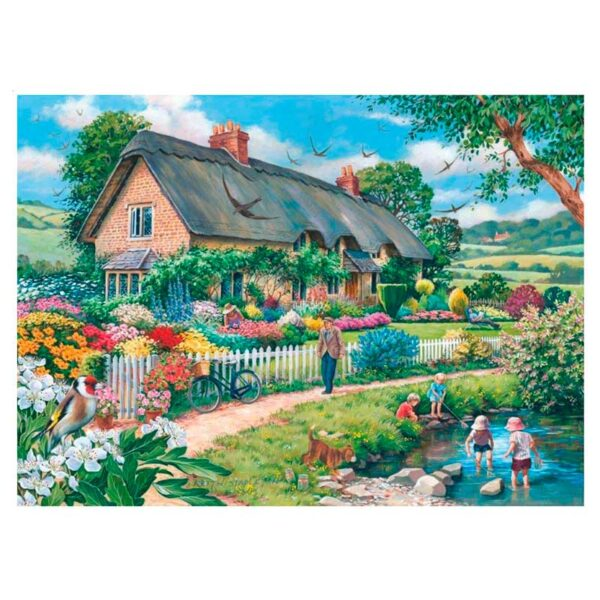 House Of Puzzles Lazy Days 500 Piece Jigsaw Puzzle Lifestyle