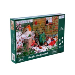 House Of Puzzles Robin Redbreast 1000 Piece Jigsaw Puzzle