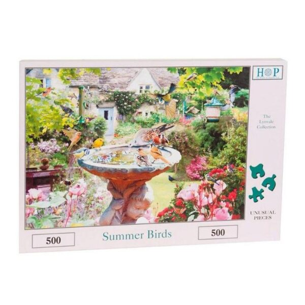 House Of Puzzles Summer Birds 500 Piece Jigsaw Puzzle