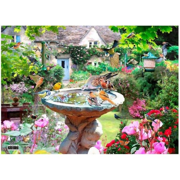 House Of Puzzles Summer Birds 500 Piece Jigsaw Puzzle image