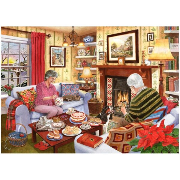 House Of Puzzles Tea For Two 1000 Piece Jigsaw Puzzle image