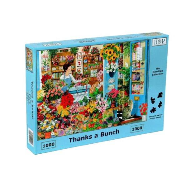 House Of Puzzles Thanks A Bunch 1000 Piece Jigsaw Puzzle