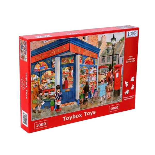 House Of Puzzles Toybox Toys 1000 Piece Jigsaw Puzzle