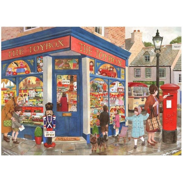 House Of Puzzles Toybox Toys 1000 Piece Jigsaw Puzzle image