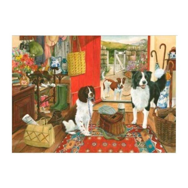 House Of Puzzles Walkies 1000 Piece Jigsaw Puzzle Lifestyle
