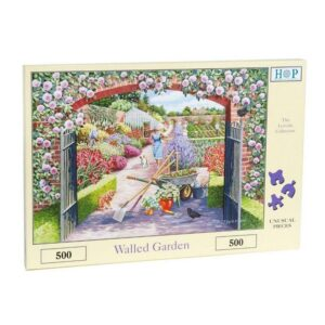 House Of Puzzles Walled Garden 500 Piece Jigsaw Puzzle