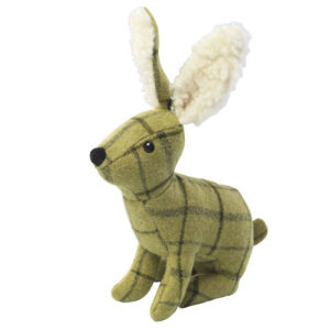 House of Paws Tweed Plush Hare