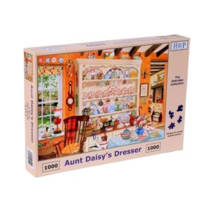 House of Puzzles Aunt Daisy's Dresser 1000pc Jigsaw Puzzle