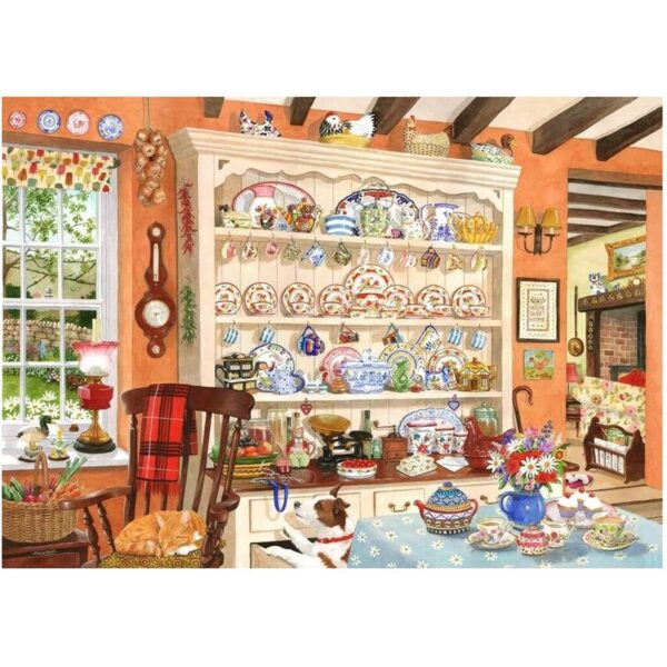 House of Puzzles Aunt Daisy's Dresser 1000pc Jigsaw Puzzle image