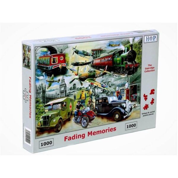 House of Puzzles Fading Memories 1000pc Jigsaw Puzzle