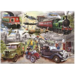 House of Puzzles Fading Memories 1000pc Jigsaw Puzzle Image