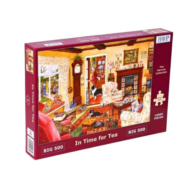 House of Puzzles In Time For Tea Big 500pc Jigsaw Puzzle