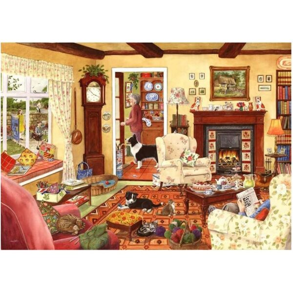 House of Puzzles In Time For Tea Big 500pc Jigsaw Puzzle Image