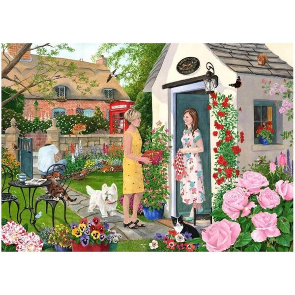 House of Puzzles Just To Say Big 500 Piece Jigsaw Puzzle Image