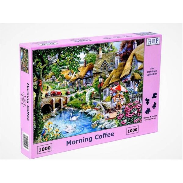 House of Puzzles Morning Coffee 1000pc Jigsaw Puzzle